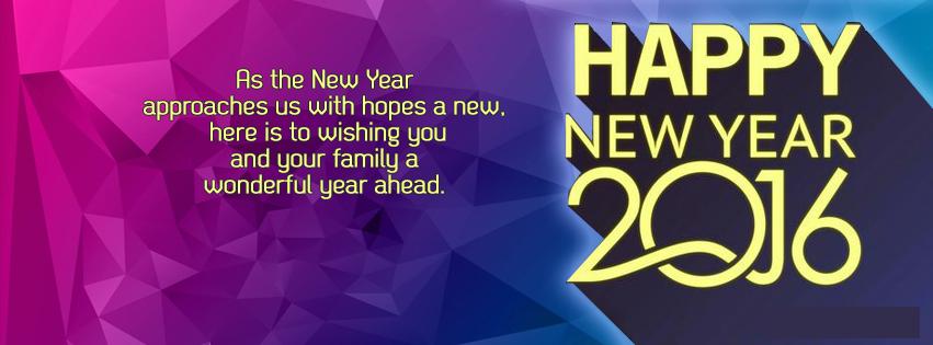 Ảnh bìa Facebook chúc mừng năm mới 2015 đẹp nhất