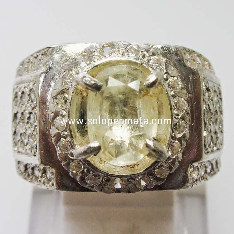 Batu Permata White Sapphire Ceylon