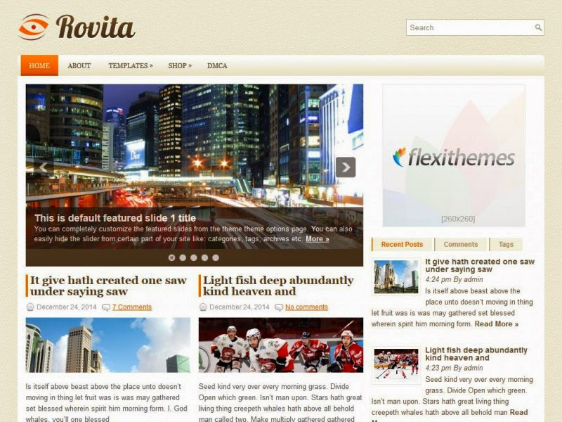 Rovita - Free Wordpress Theme