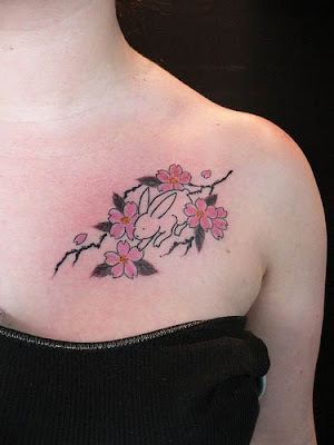 Cherry Blossoms Tattoos pict
