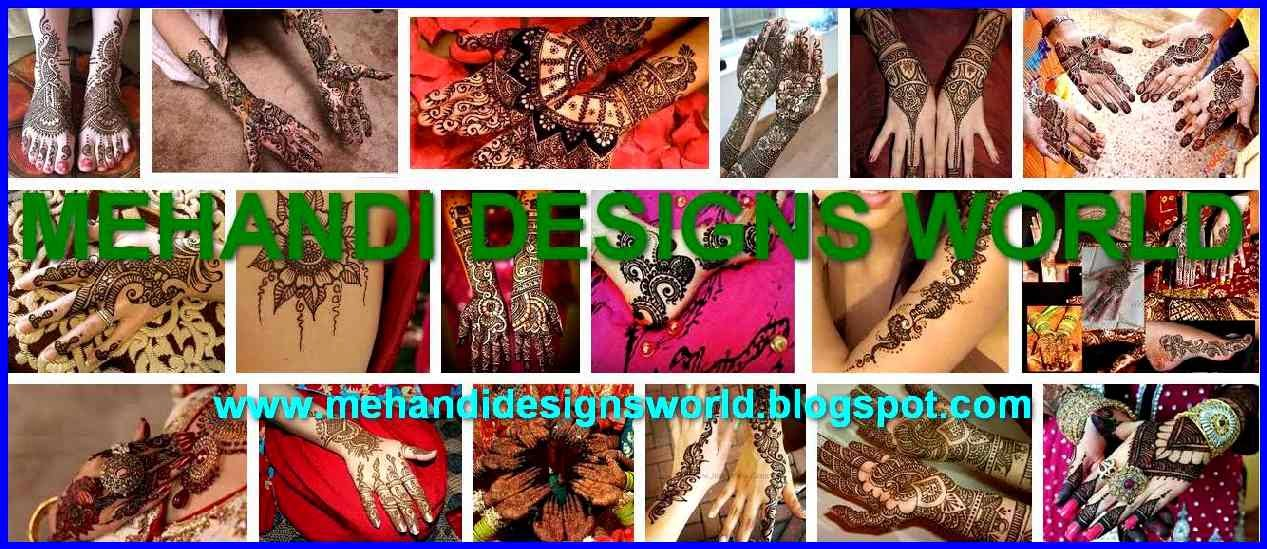 MEHANDI DESIGNS WORLD