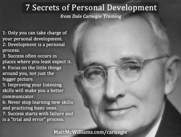 Dale Carnegie - Writer | Lecturer | Developer of Great Courses