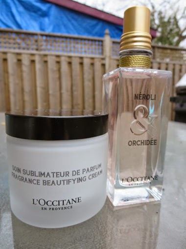 L'Occitane Neroli & Orchidee and Fragrance Beautifying Cream