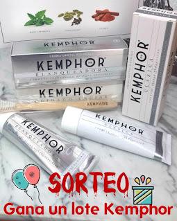 Sorteo lote de productos Kemphor