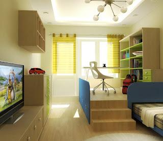 desain+kamar+tidur+remaja+wanita+muda Ide Kreatif Kamar Tidur Remaja