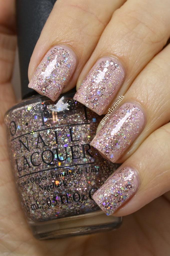 Opi Nail Polish Glitter Gold - Creative Touch
