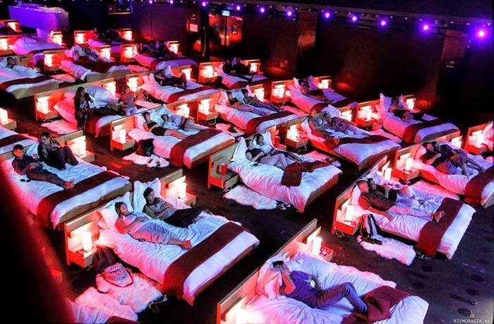 Some Of The Most Beautiful Bed Cinemas Around The World