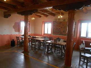painted desert inn interior