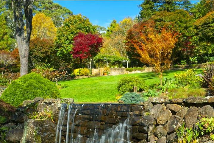 Windyridge garden jesienią, żródło: http://www.owenwilson.com.au