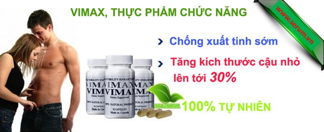 Thực phẩm chức năng Vimax Pills