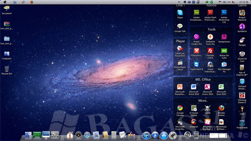Mac OS X Lion Skin Pack For Windows 7 2