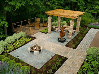Contemporary Backyard Landscapes Designs