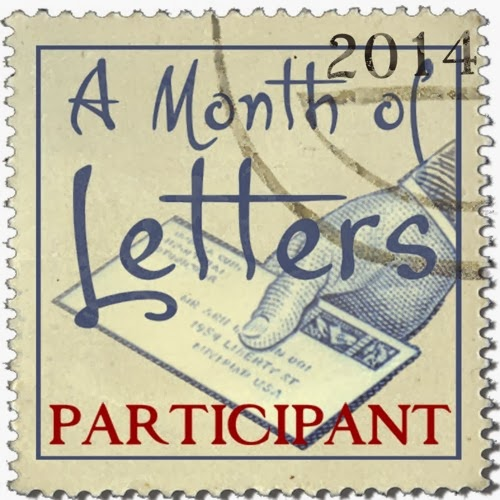 Month of Letters 2014