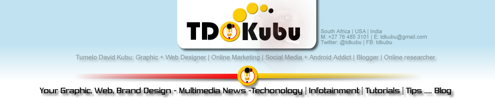 TDKubu Infortainment - Graphic Web Design - Freelancing - Tutorials - Tech - Multimedia Blog