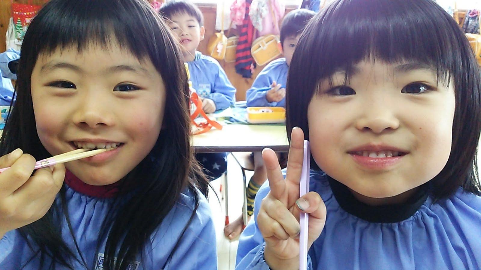 熊本県のちぐさ幼稚園ぶろぐ: ニコニコがかわいいきぐみさん