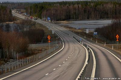 Väg, motorväg, Norrbotten, Norrland