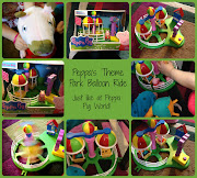 Peppa Pig Theme Park Party and Toys Review (pp collage)