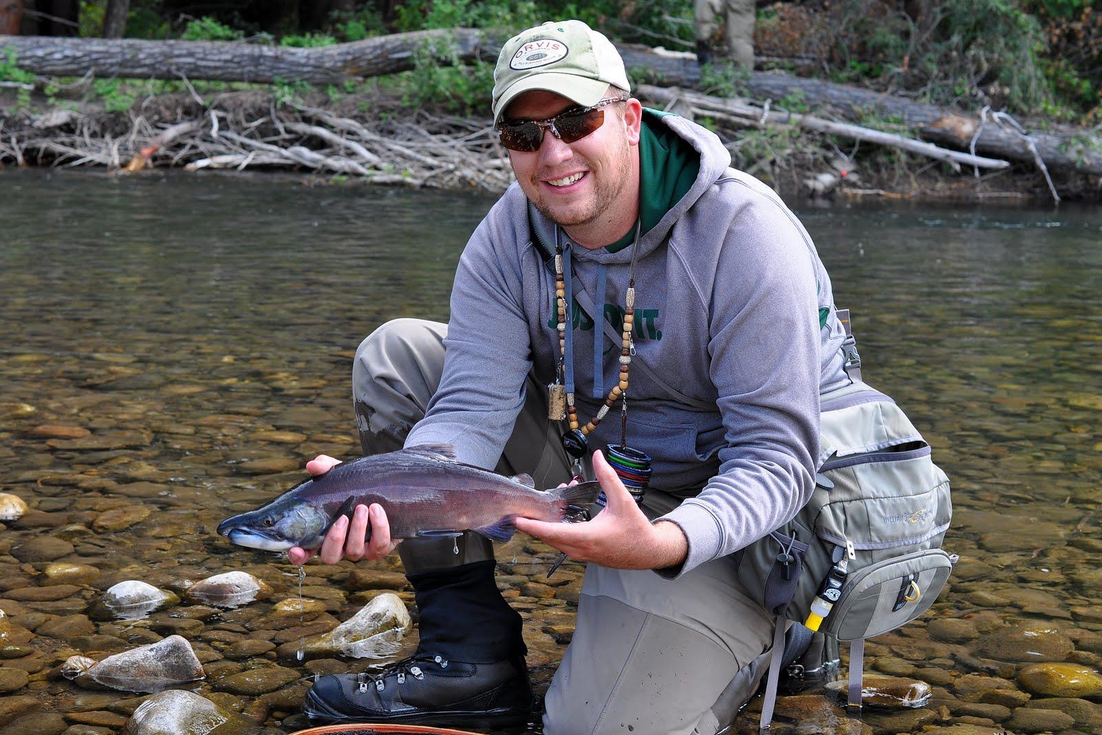 Colorado fly fishing magazine salmon slaying on the east for Salmon fishing colorado