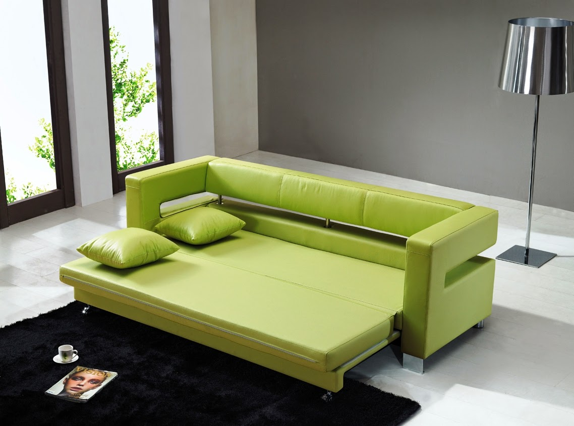 Sofa-bed-in-living-room