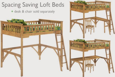 Futon Loft and Bunk Beds