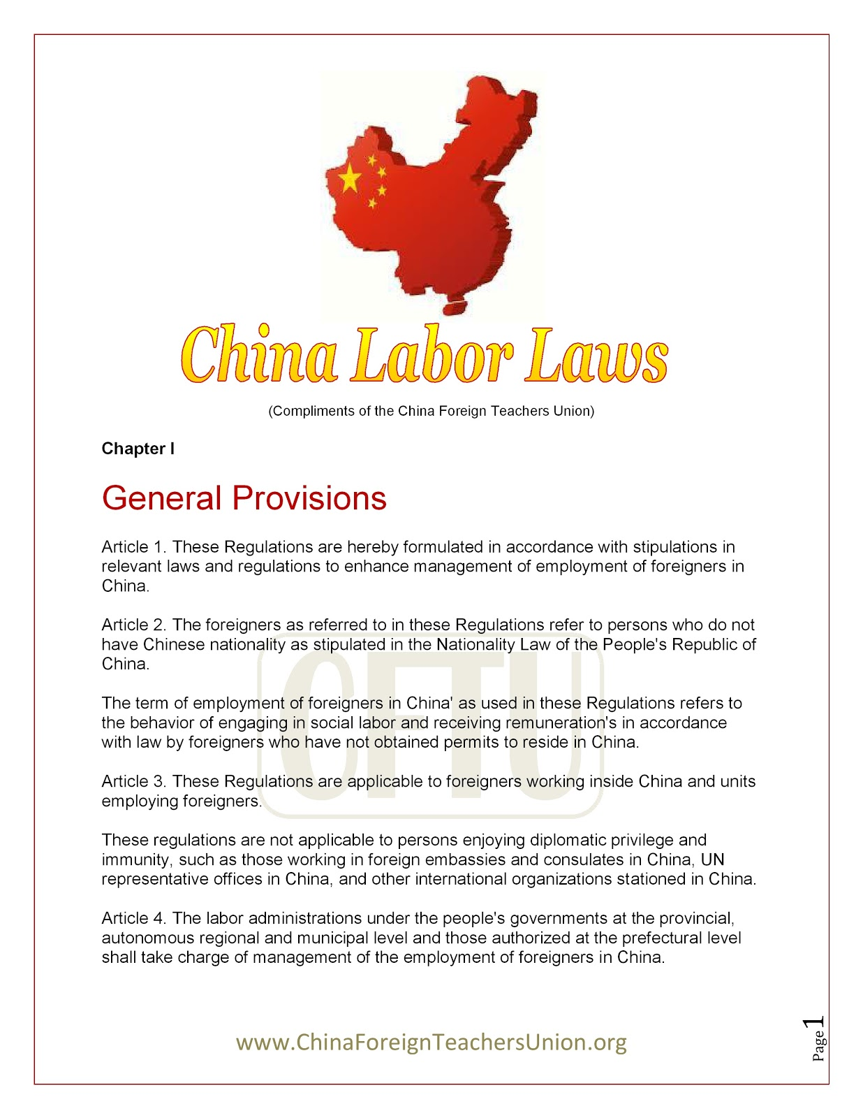 """chinese labor relations 1 learning from chinese enterprises: chinese labor law and models of employment relations """"with chinese characteristics"""" shaohui chen china europe international business school, shanghai."""