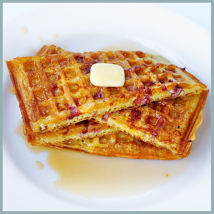 the parsley thief: Savory & Sweet Waffles
