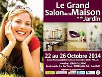 affiche du salon de la maison et du jardin 22 au 26 octobre 2014 pailles ile maurice