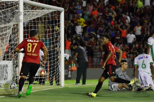 Sport vence e Chapecoense segue sem vencer no returno do Brasileirão