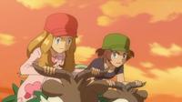 Pokemon XY - Capitulo 53 - ¡La dura Carrera de Skiddo!