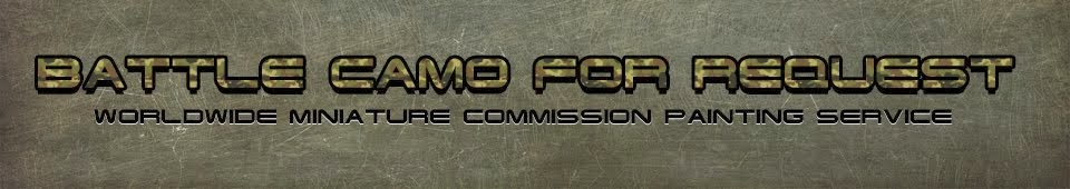 Miniature commission painting service (Battletech, Warhammer and other game systems)