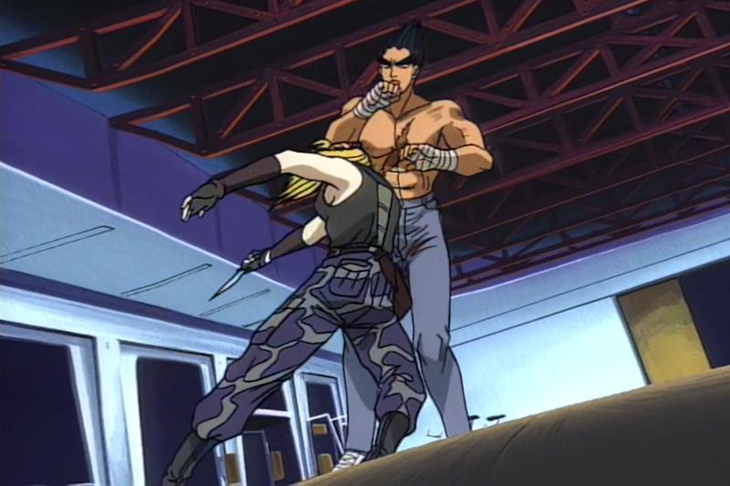 Tekken Nina Kazuya Anime