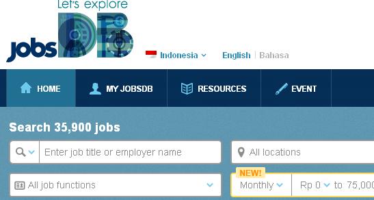 cari kerja di jobsdb