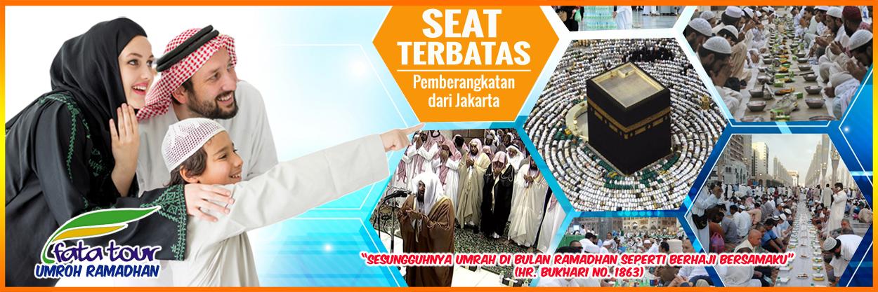 Umroh Ramadhan $1900 - Fatatour 081384211114
