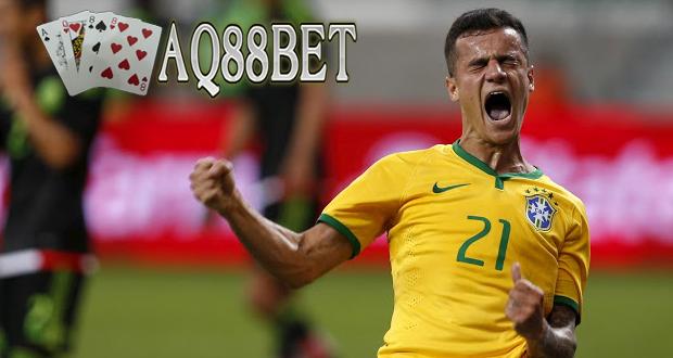 Agen Bola AQ88bet - Brasil memetik kemenangan 2-0 atas Meksiko di laga persahabatan. Dua gol itu diciptakan masing-masing oleh Philippe Coutinho dan Diego Tardelli di babak pertama.