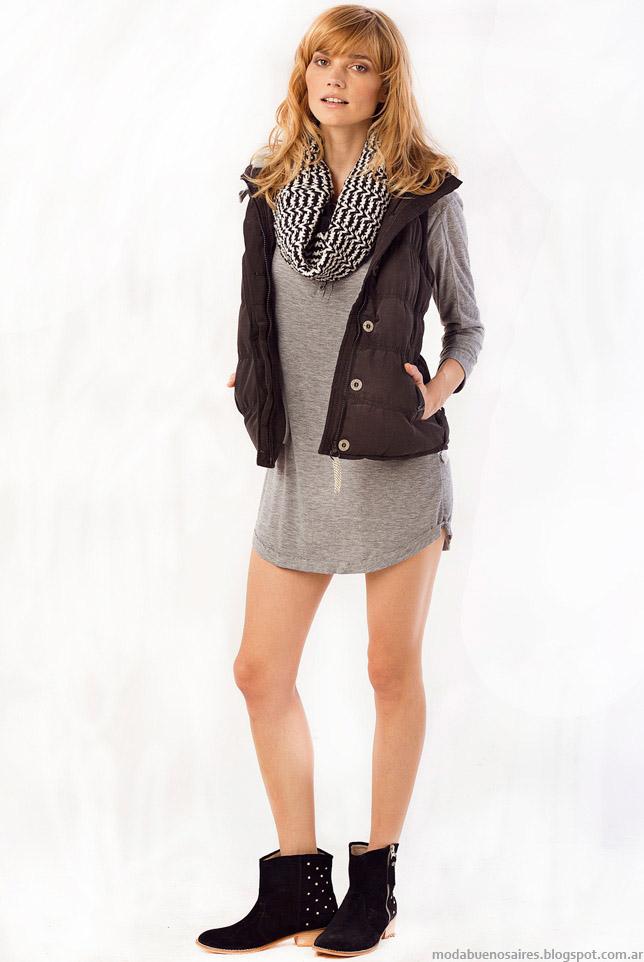 Vestidos otoño invierno 2015 moda Sail.