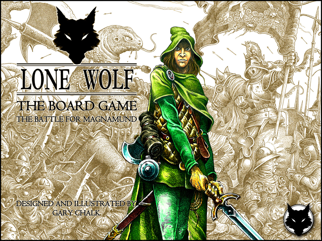 Lone Wolf - The Board Game box cover