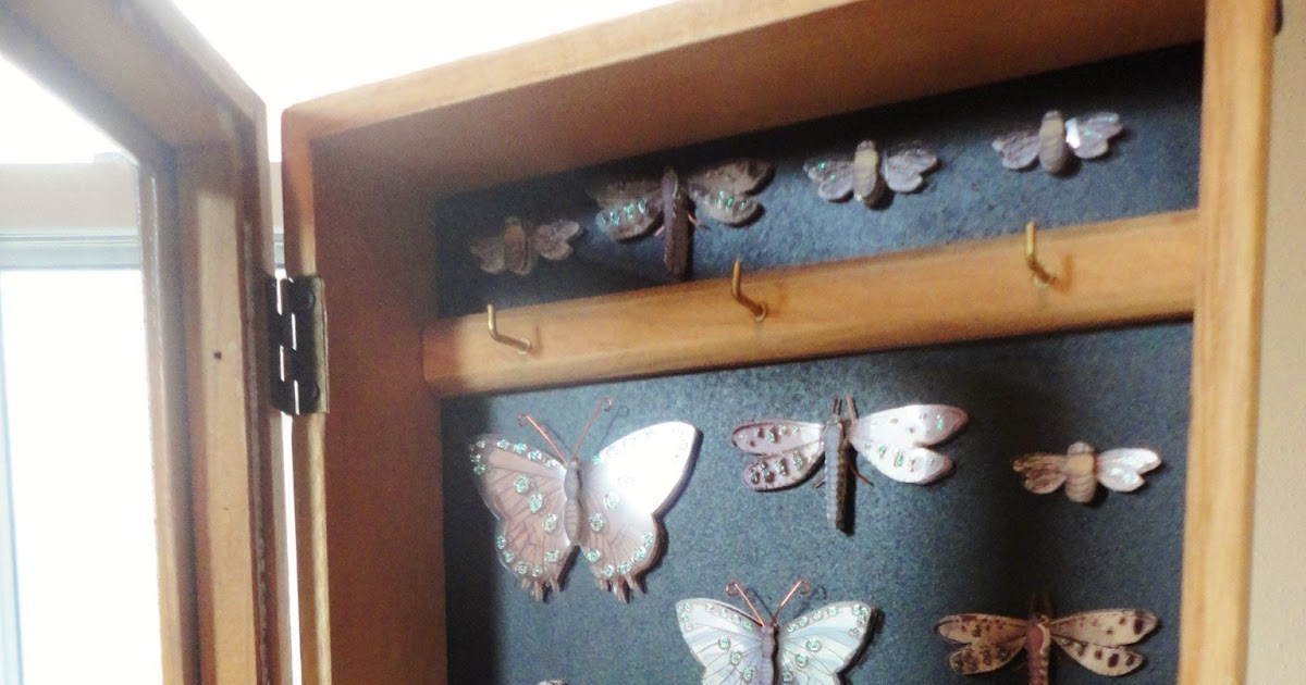 The Lovely Side: DIY Makeover: Butterfly Cabinet