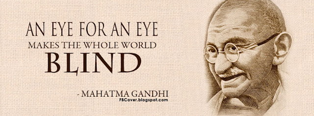 an eye for an eye makes the world blind essay