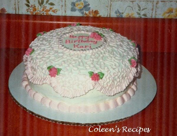 coleens recipes cake decorating 101