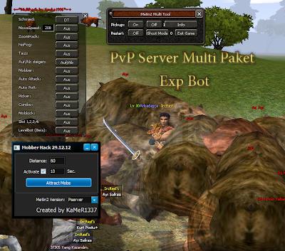 Metin2 PvP 7x Damage Multihack EXP Bot Hilesi İndir