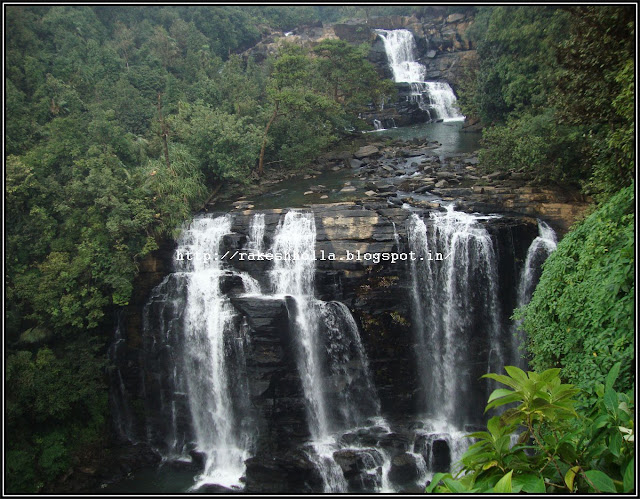 Beautiful waterfalls in India