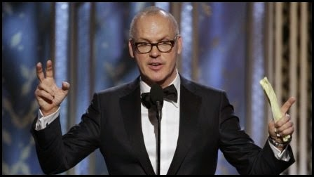 Globos de Oro 2015: Michael Keaton - mejor actor (comedia)