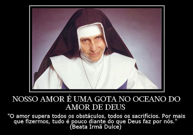 Frases Dos Santos Nosso Amor é Uma Gota No Oceano Do Amor De Deus