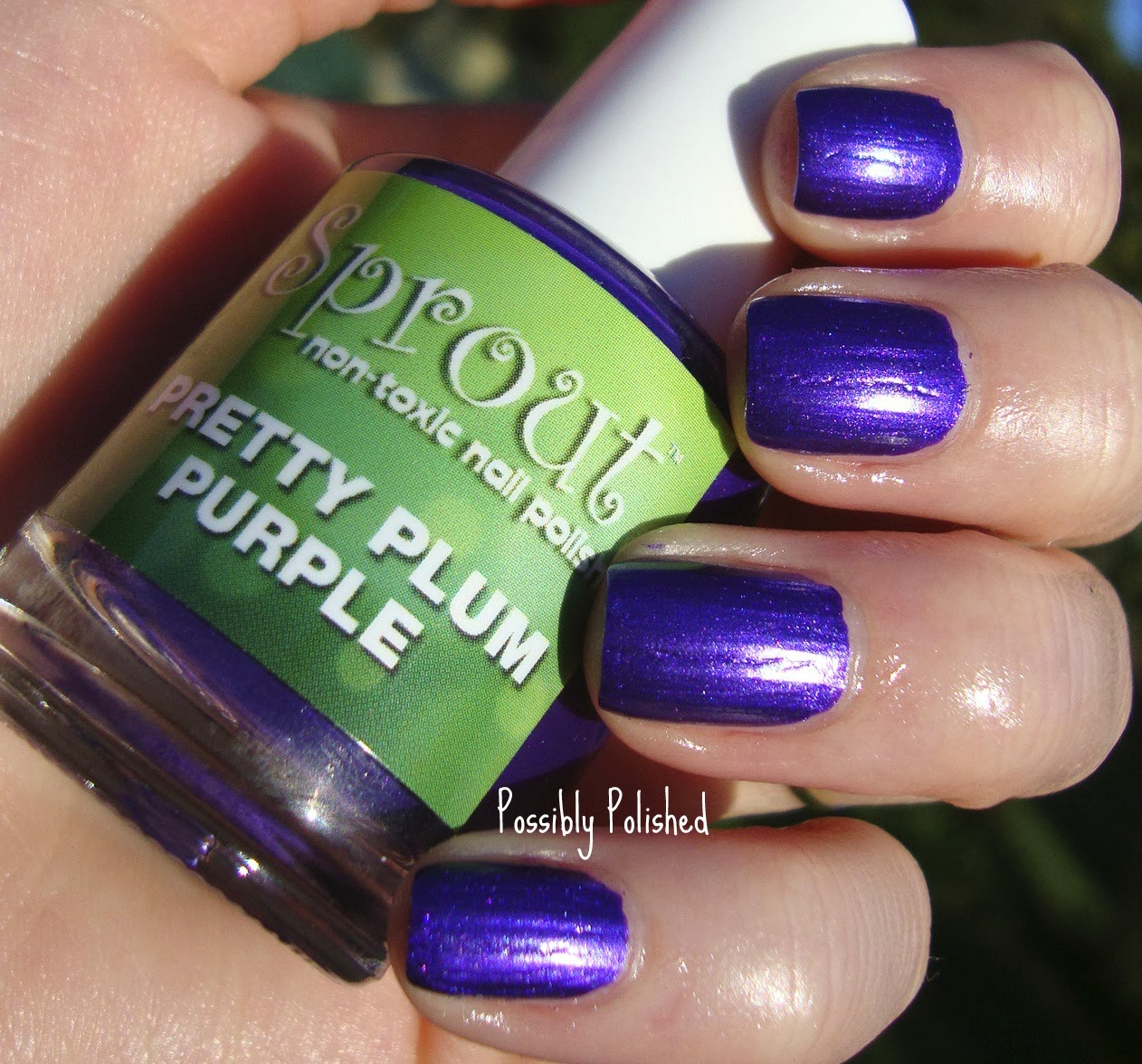 Possibly Polished: Indie Review: Sprout Non-Toxic Nail Polish