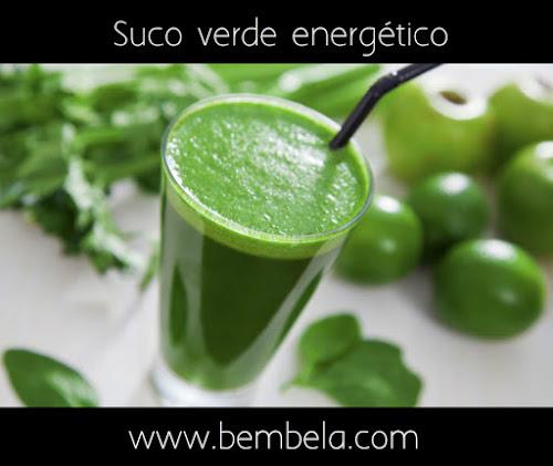 Suco verde energético