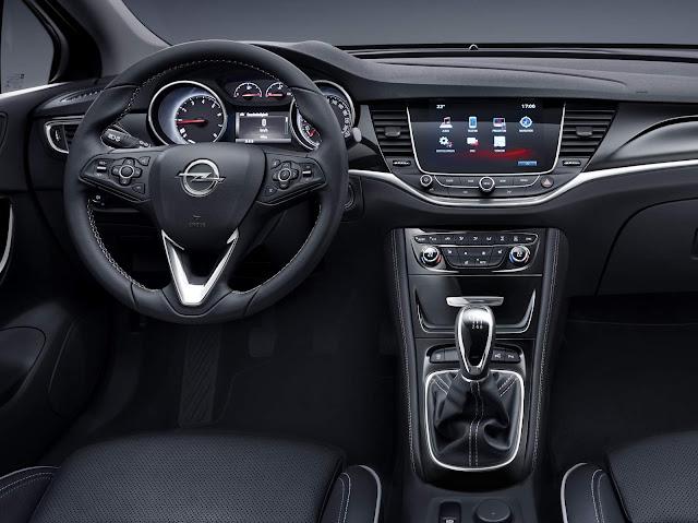 Novo Opel Astra 2016 - painel