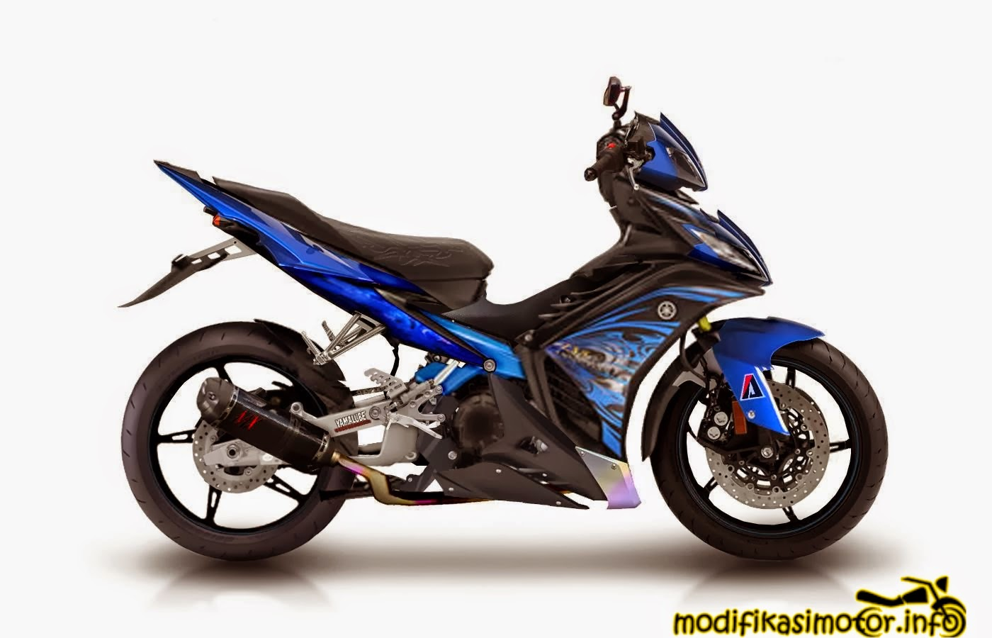 20+ gambar & foto modifikasi motor yamaha jupiter mx new