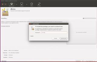 proses instalasi  driver cq40 di ubuntu