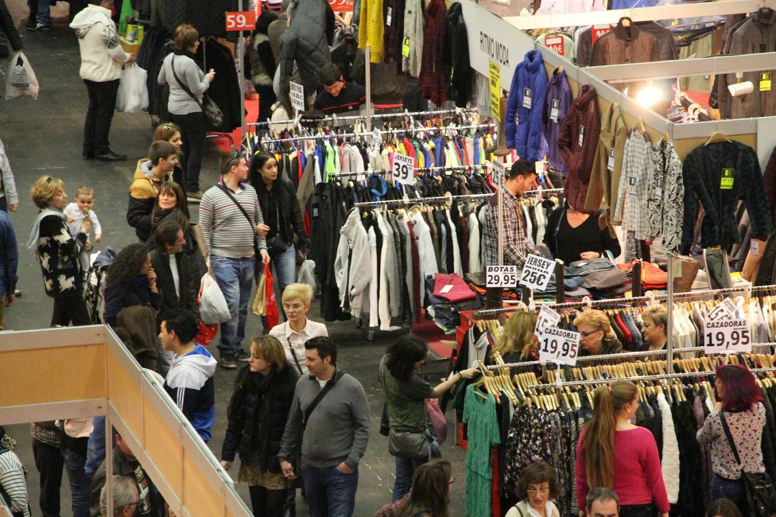 La tienda barakaldesa Ritmo, en la Feria del Stock