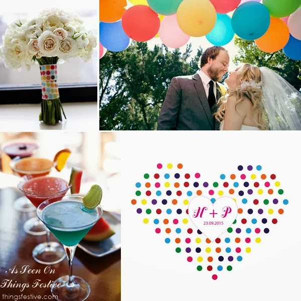 Rainbow Wedding Color Palette When You Can T Decide